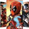 Superheroes Wallpapers | 4K Backgrounds APK Icon
