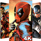 Superheroes Wallpapers | 4K Backgrounds icon