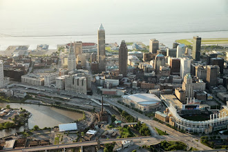 Photo: Aerial photograph of Cleveland taken on Wed. June 1, 2011.(Thomas Ondrey/The Plain Dealer)