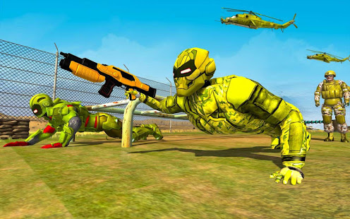 Super Light Speed Robot Training: Shooting Games for PC-Windows 7,8,10 and Mac apk screenshot 11