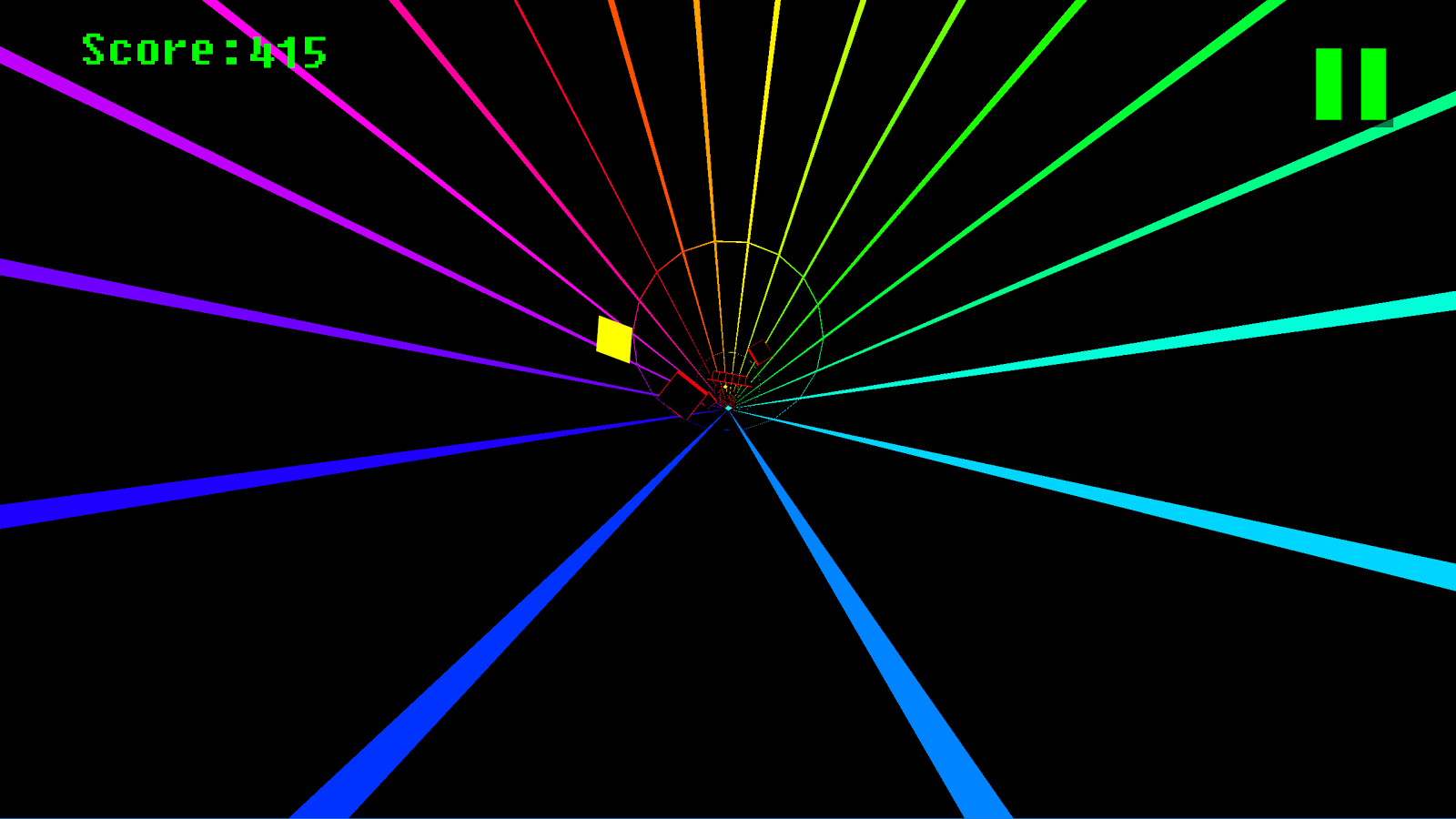 Spectrum Tunnel 3D- screenshot