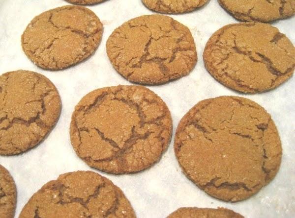 Old Fashion Molasses Cookies Recipe