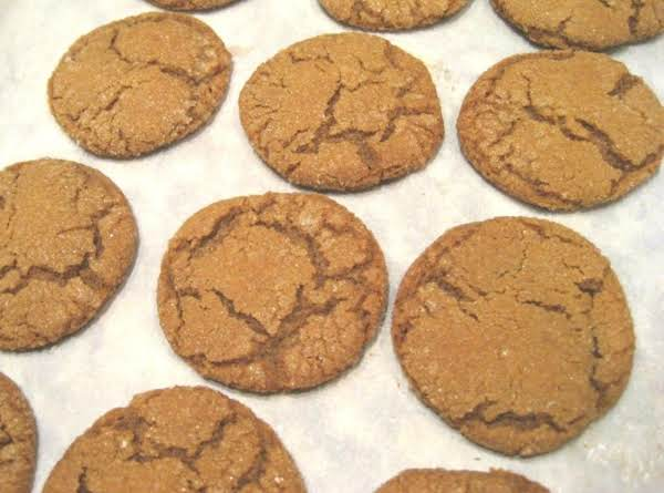 Old Fashion Molasses Cookies