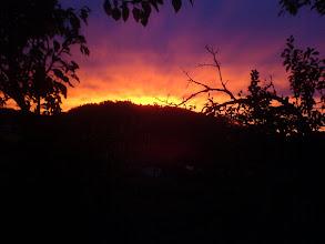 Photo: Horka hoří! aneb Do práce s východem slunce...