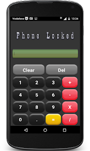 Calculator Lock Screen screenshot 1