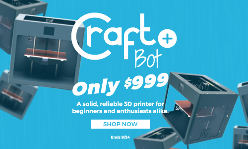 A solid, reliable 3D printer for beginners and enthusiasts alike.