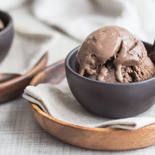 Simply Perfect Chocolate Ice Cream.