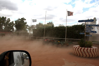Photo: Year 2 Day 218 -  Dust Storm at Curtin Springs Cattle Station