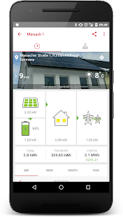 SolarEdge Monitoring- screenshot thumbnail
