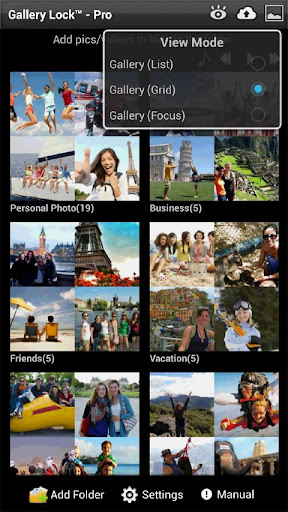 Gallery Lock Pro(Hide picture)  screenshots 2