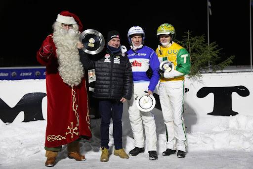 Antti Teivainen voitti Arctic Challengen ennen Jorma Kontiota ja Tim Tetrickiä.