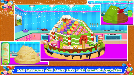 Doll House Cake Maker 1.0 12