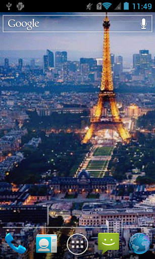Day and night in Paris Live WP