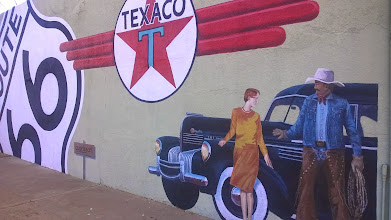 Photo: August 10-I took this for Dad.  This was next door to the Palomino Motel.