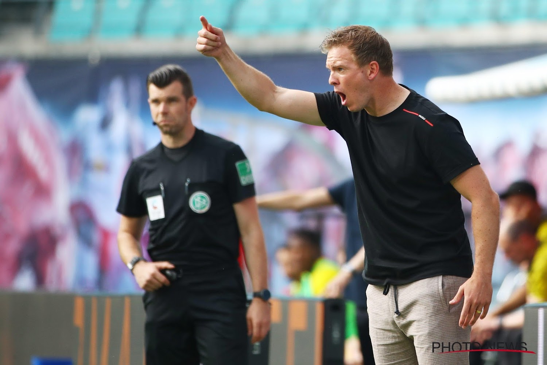 Le coach de Leipzig s'emporte: