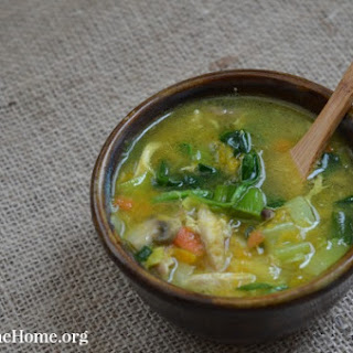 Detoxifying Chicken and Vegetable Soup.