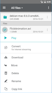 FileStream.Me- screenshot thumbnail