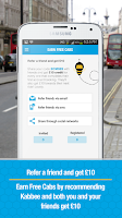 Screenshot of Kabbee - book London minicabs