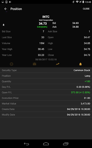 ETNA Trader Mobile screenshot 15