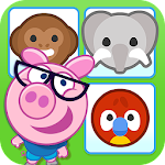 Memory for kids - Piggy Free Icon