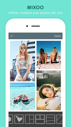 Mixoo Collage - Photo Frame Layout & Pic Grid screenshot 1