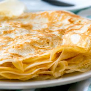 Julia Child's Basic Crêpes.