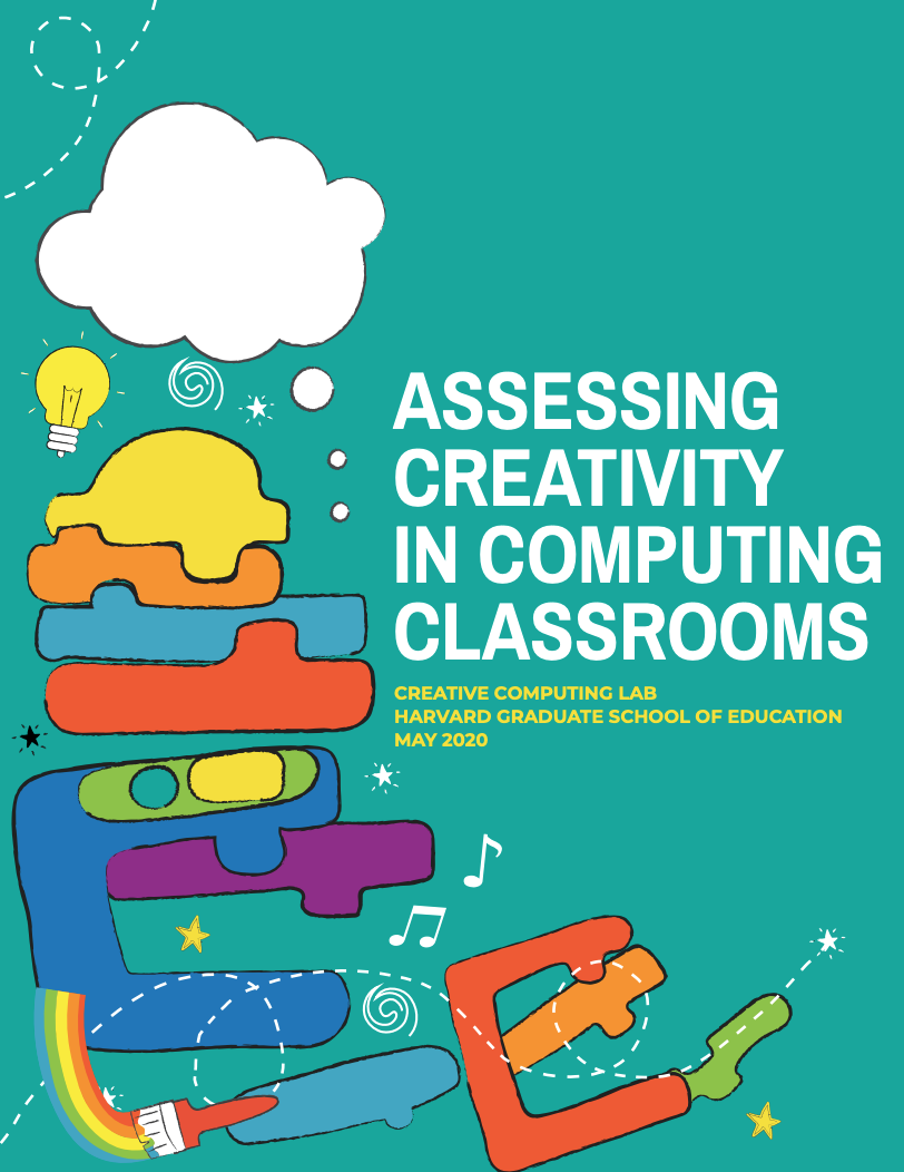 Assessing Creativity in Computing Classrooms Report (cover image)