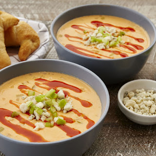 Slow-Cooker Buffalo Chicken Soup.