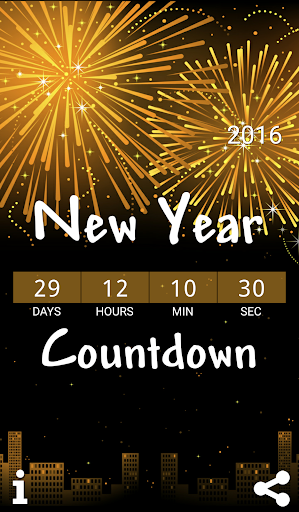 Countdown to New Year 2016