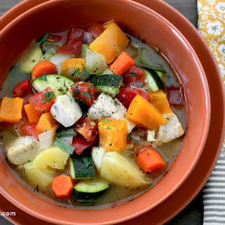 Healthy Chicken Stew.