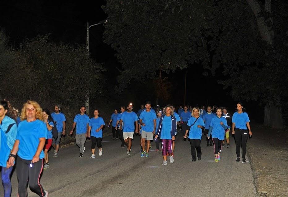 Marcha Noturna da Semana da Mobilidade com mais de 200 participantes