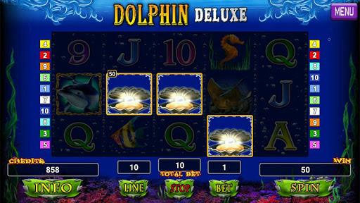 Dolphin Deluxe Slot 1.2 screenshots 5