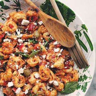 Mediterranean Seven Layer Dip Salad