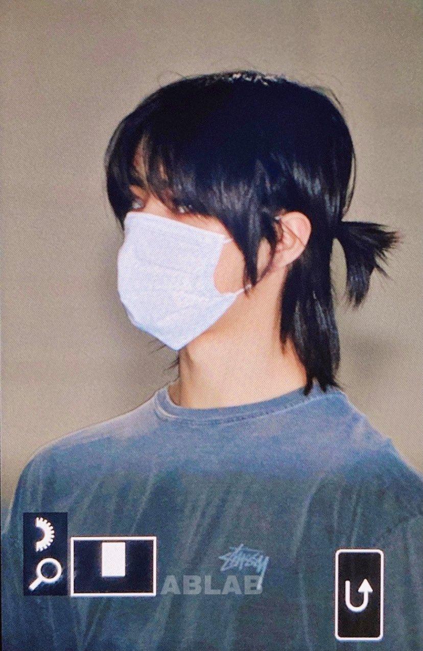 txt beomgyu long hair 3