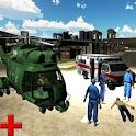 911 City Ambulance Rescue 3D icon