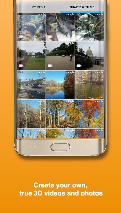 Camarada: 3D Camera, 3D Video, 3D Selfie, 3D Photo Screenshot 1