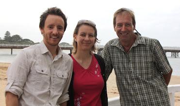 Photo: Year 2 Day 149 -  Guy, Freddie and Rog at Ocean Grove Seaside