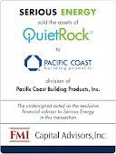 Serious Energy and Pacific Coast Building Products