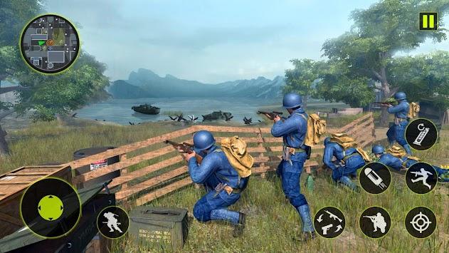 US Army WW2 Battleground Survival Shooting Game