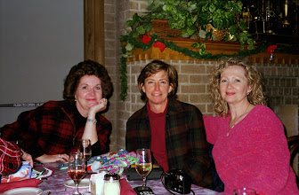 Photo: Christmas 1998. Michele (Baldree) Bibb, Linda (Wilson) Mitchell, Suzy (Wright) Thomas