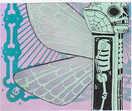 Photo: Wenchkin's Mail Art 366 - Day 227 - Card 227b