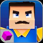 Cube Hell: Neighbor Battle 3D icon