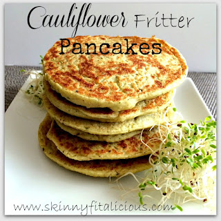 Cauliflower Fritter Pancakes