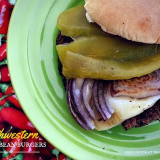 Southwestern Black Bean Burgers