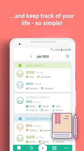 Daylio - Diary, Journal, Mood Tracker screenshots 4