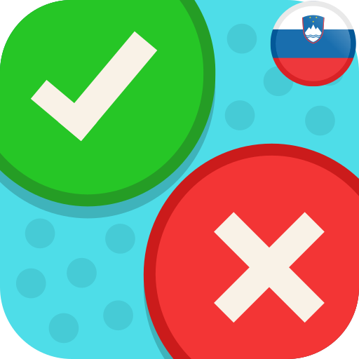 Android aplikacija Drži - Ne Drži? Kviz Slovenija