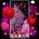 Love Live HD Wallpaper ❤️ Hearts 4K Wallpaper Free icon