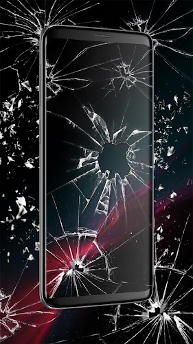 3D Broken Glass Live Wallpaper Background Parallax Is The Latest And Stylish Theme For Android Phone Users You Can Customize Your Home