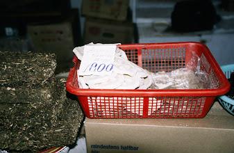 Photo: 03111 ウランバートル/風景/ダライ・エージ(海の母)/食料品専門の市場/乳製品/団茶