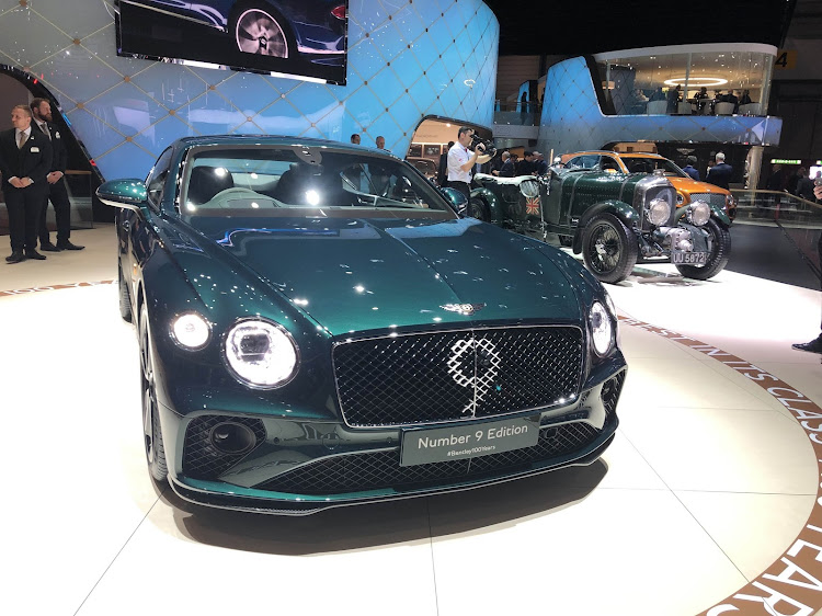 Bentley showed its Continental GT 9 by Mulliner as it kicks off centenary celebrations.
